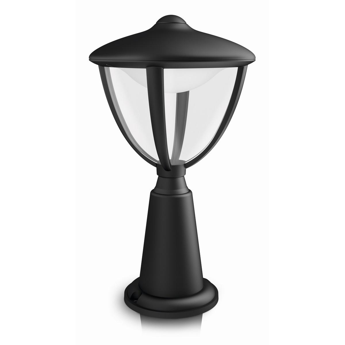Philips 15472/30/16 Robin Venkovní sloupkové LED svítidlo 33,5 cm, černá