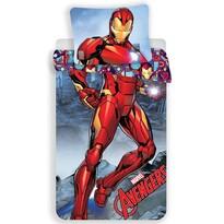 Dětské bavlněné povlečení Iron Man, 140 x 200 cm, 70 x 90 cm