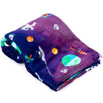 Domarex SPACE takaró, kék, 150 x 200 cm