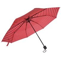 Skládací deštník červená, 52,5 cm
