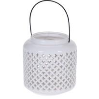 Świecznik ceramiczny do powieszenia Gwiazdki, 18,5 cm