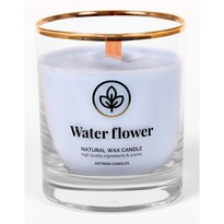 Świeczka zapachowa w szkle Water flower 500 g, 9,5 cm