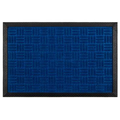Wycieraczka gumowa niebieski, 40 x 60 cm