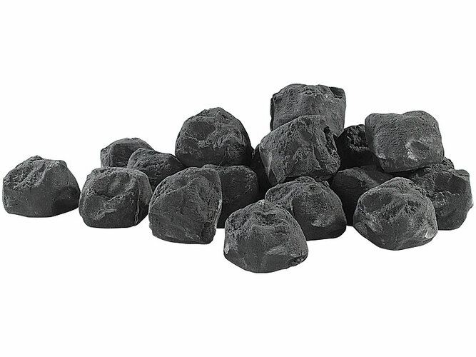 Carlo Milano Dekorační čierne uhlie NC-1779