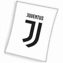 Koc Juventus biały, 140 x 110 cm