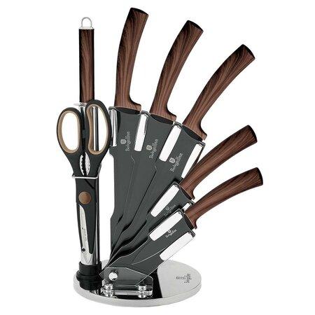 Berlinger Haus 8dílná sada nožů ve stojanu Forest Line