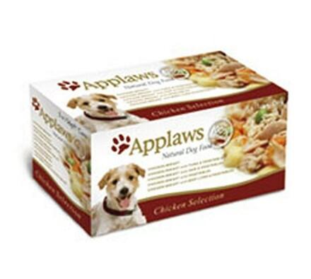 Applaws konzervy pro psy 5 x 156g - kuřecí výběr