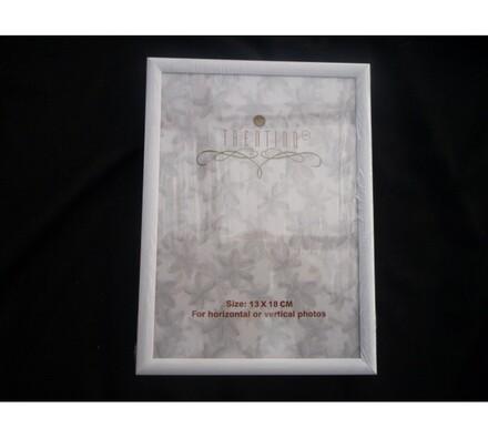 Fotorámeček 13 x 18 cm bílý