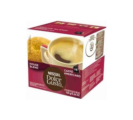 Kapsle  Dolce Gusto, Americano, 16 ks, Nescafé