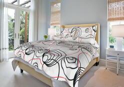bavlnené obliečky simona, 140x200, 70x90 cm, champaigne, 140 x 200 cm, 70 x 90 cm