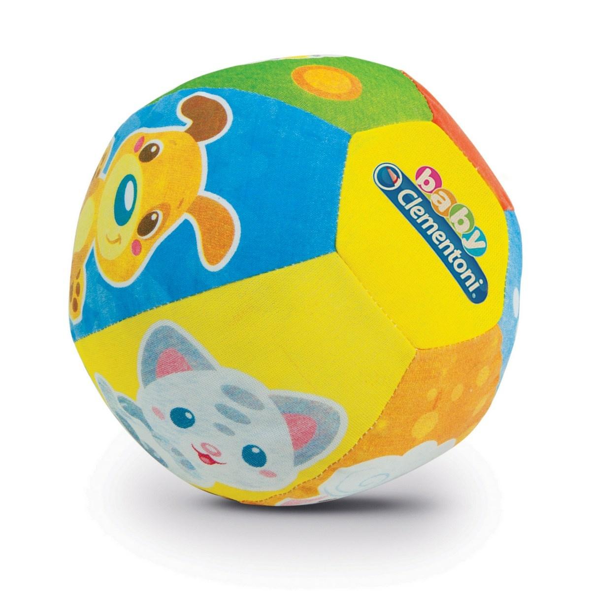 Clementoni Hudební míček se zvířátky, pr. 16 cm