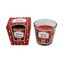 Arome Vonná sviečka v skle Winter Berries, 120 g