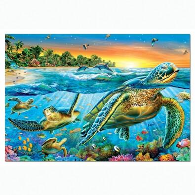 Puzzle Mořské želvy, 500 dílků, vícebarevná