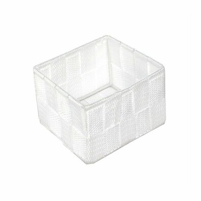 Compactor Úložný organizér do zásuvky S TEX, 12 x 12 x 7 cm, biela
