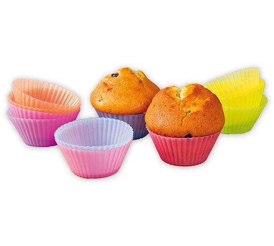 Silikonové košíčky na muffiny