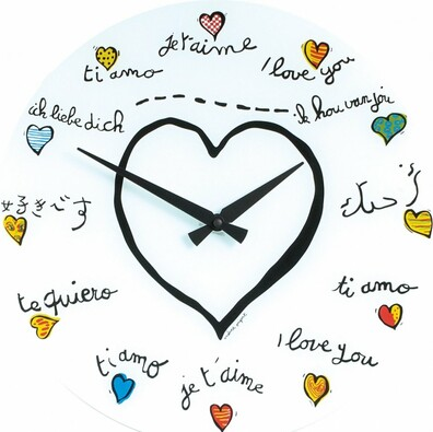 Nextime Loving you 8030 zegar ścienny