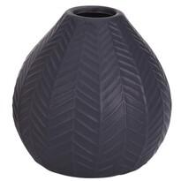 Keramická váza Montroi tmavě šedá, 11,3 cm