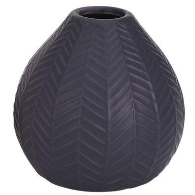 Vază din ceramică Montroi gri închis, 11,3 cm