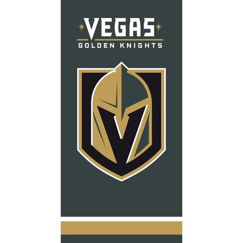 Osuška NHL Vegas Golden Knights, 70 x 140 cm