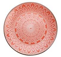 Florina Keramický dezertní talíř Maroko 20 cm, korálová