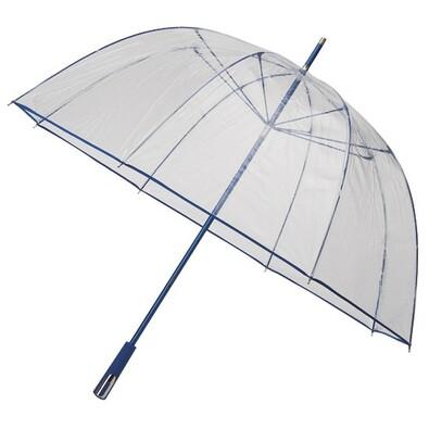 Průhledný deštník Princess sv.modrý