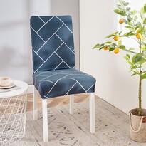 Husă multielastică scaun 4Home Elegant, 45 - 50 cm, set 2 buc.