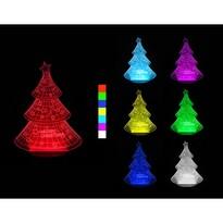 Sharks 3D LED lampa Vianočný stromček