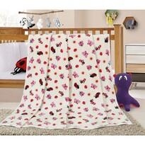 Bellatex Dětská deka Ella Berušky, 100 x 155 cm