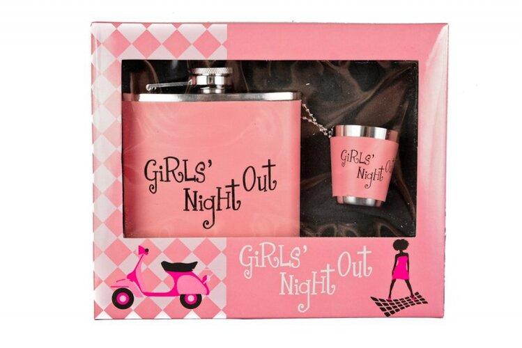 Dárková placatka Girls Night Out