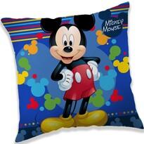 Polštářek Mickey blue, 40 x 40 cm