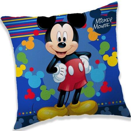 Párna Mickey blue, 40 x 40 cm