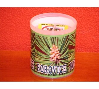 Repelentní svíčka s vůní borovice