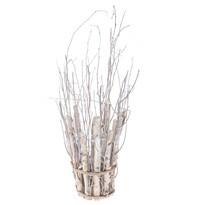 Dekoračné obal na květináč z proutí, 12 x 30 cm