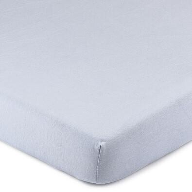 4Home Jersey lepedő elasztánnal kék, 180 x 200 cm