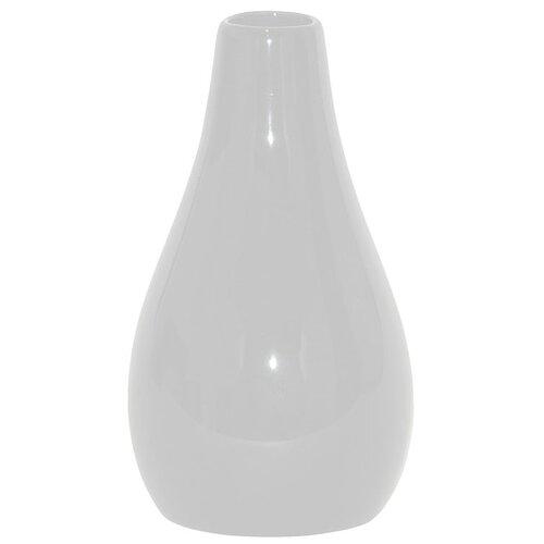 Keramická váza Santaella bílá, 25,5 cm