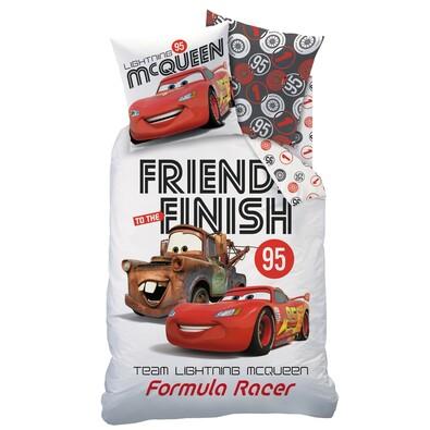Dětské bavlněné povlečení Cars Formula Racers, 140 x 200 cm, 60 x 80 cm