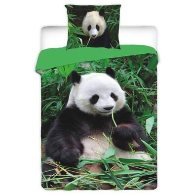 Bavlněné povlečení Panda, 140 x 200 cm, 70 x 90 cm