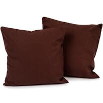 Poszewka na poduszkę Doubleface UNI brązowy