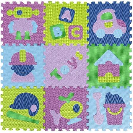 Baby Great Penové puzzle Chlapčenské hračky SX (30x30)