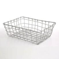 Altom Obdĺžnikový košík Grey, 30 x 22 x 10 cm