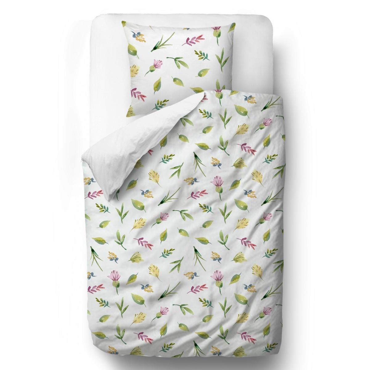 Butter Kings Saténové obliečky Blooming meadow, 140 x 200 cm, 70 x 90 cm