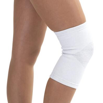 4Home kompresní návlek na koleno se stříbrným vláknem L/XL