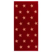 Ręcznik kąpielowy Stars czerwony