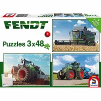 Schmidt Puzzle Traktory Fendt, 144 dielikov