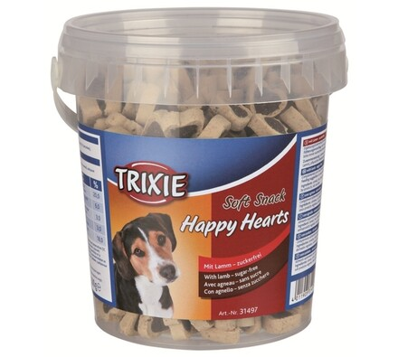 Trixie Soft Snack Happy Hearts srdíčka jehněčí s r