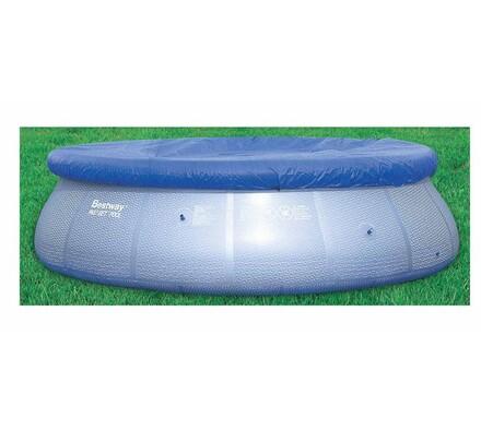 Plachta na bazén průměr 366 cm, modrá, pr. 366 cm