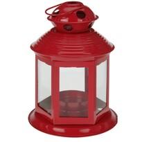 Lampáš na čajovú sviečku Linterne, červená