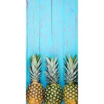Prosop de plajă Ananas Blue, 70 x 140 cm