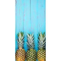 Ręcznik plażowy Ananas Blue, 70 x 140 cm