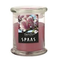 SPAAS Vonná svíčka ve skle Magnolia Blossom, 11 cm